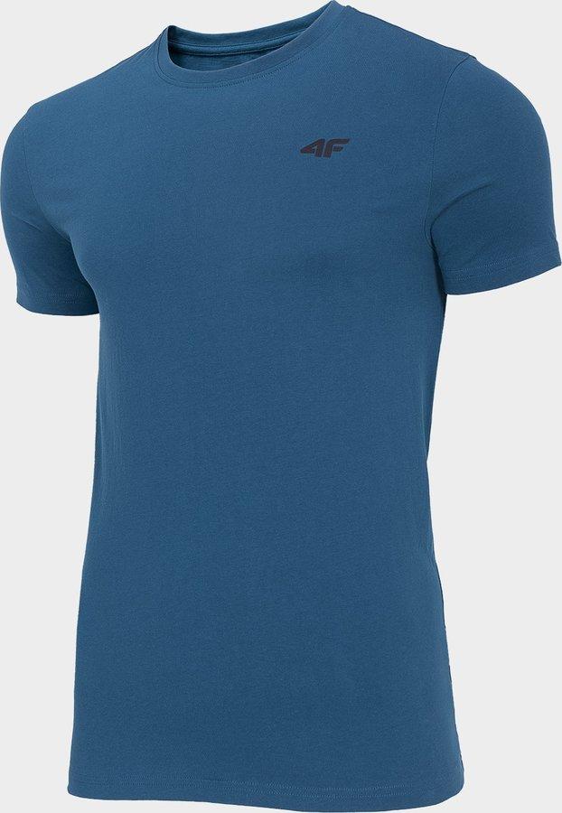 Modré pánské tričko s krátkým rukávem 4F