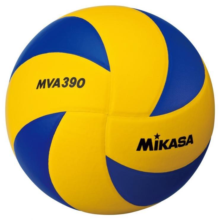 Modro-žlutý volejbalový míč MVA 390, Mikasa - velikost 5