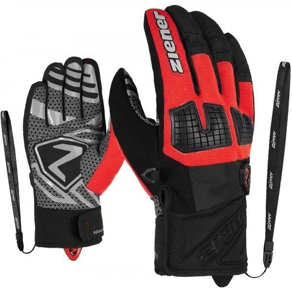 Černé pánské lyžařské rukavice Ziener - velikost 10,5