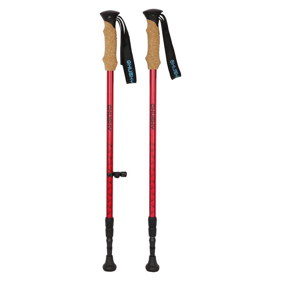 Oranžová trekingová hůl Sherpa, Husky - délka 135 cm