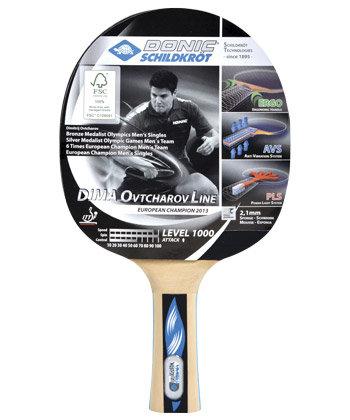 Pálka na stolní tenis Ovtcharov 1000 FSC, Donic
