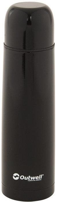 Černá termoska na pití Outwell - objem 0,5 l
