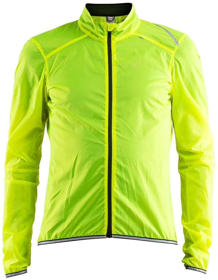 Žlutá pánská cyklistická bunda Craft