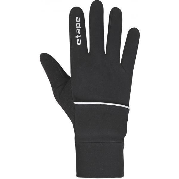 Černé rukavice na běžky Etape