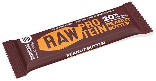 Protein - Bombus Raw Protein 20% 50 g peanut butter