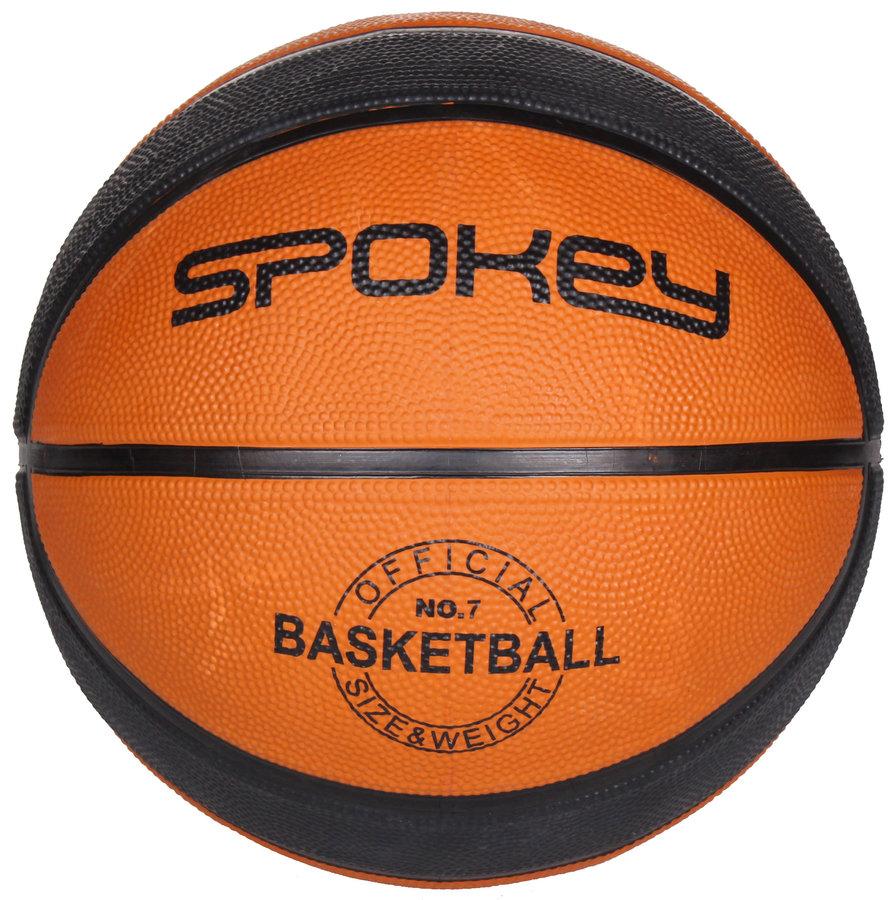 Hnědý basketbalový míč DUNK, Spokey - velikost 7