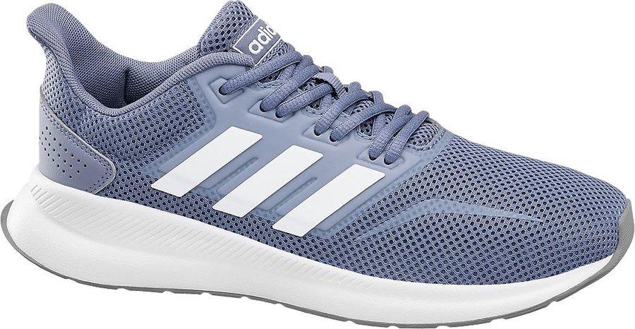 Modré dámské tenisky Adidas - velikost 39 1/3 EU