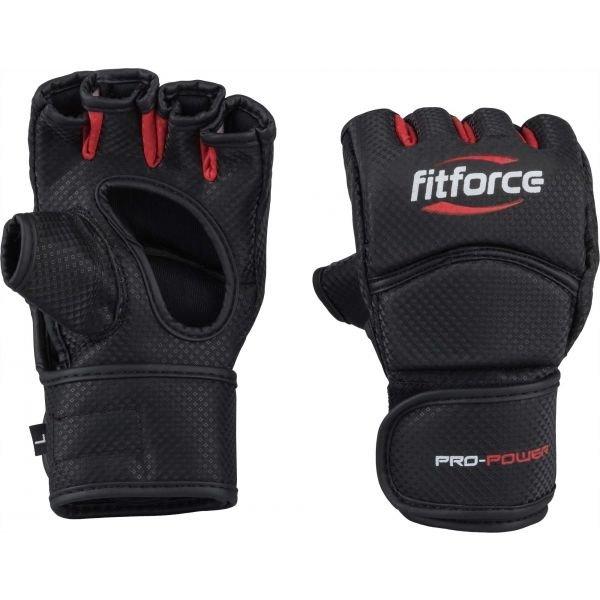 Černé MMA rukavice Fitforce