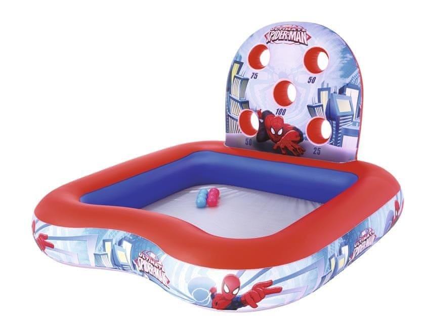 Dětský nafukovací nadzemní čtvercový bazén Bestway - délka 155 cm, šířka 155 cm a výška 99 cm
