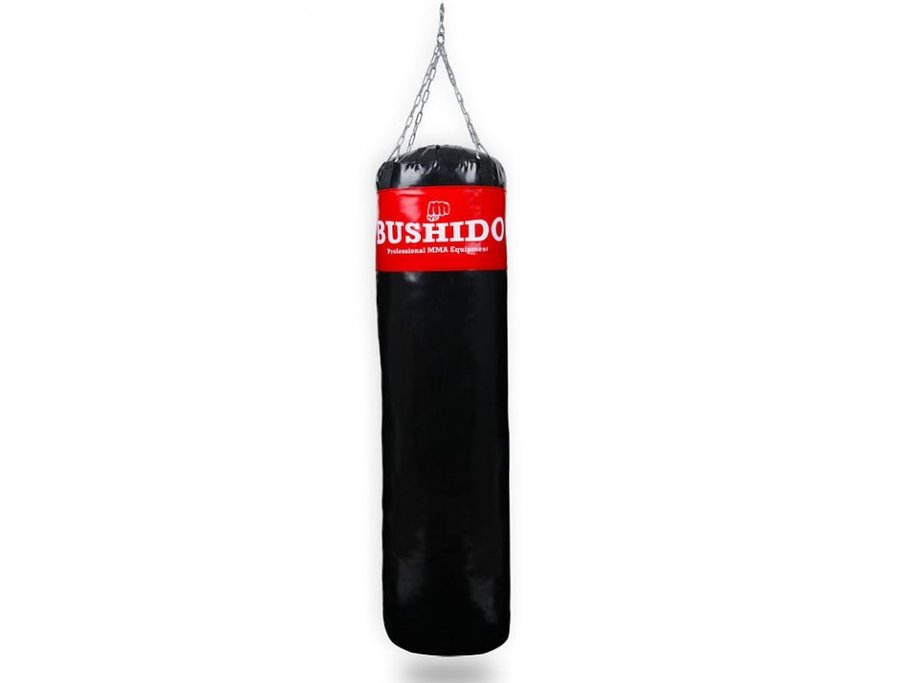 Černo-červený boxovací pytel Bushido - 60 kg