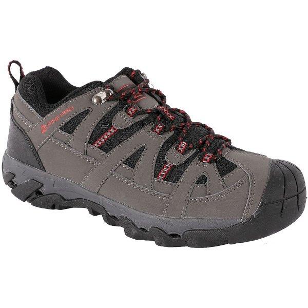 Šedé pánské trekové boty Alpine Pro