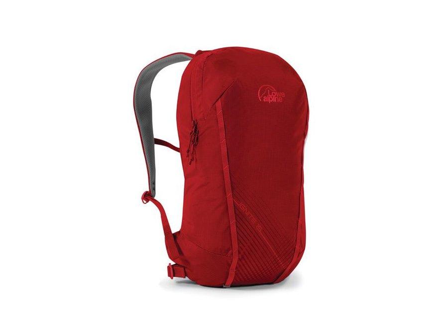 Červený turistický batoh Lowe Alpine - objem 15 l