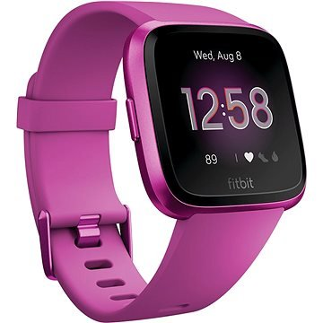 Růžové chytré dámské hodinky Versa Lite, Fitbit