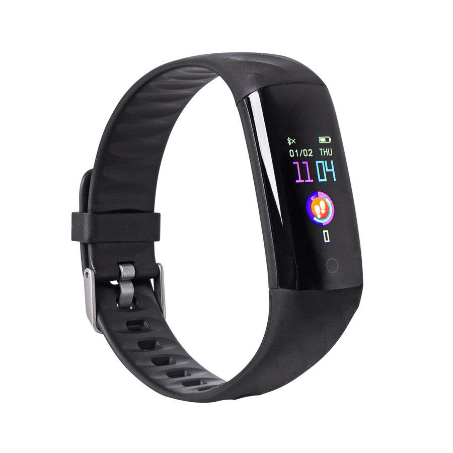 Černý fitness náramek Oxyband, inSPORTline