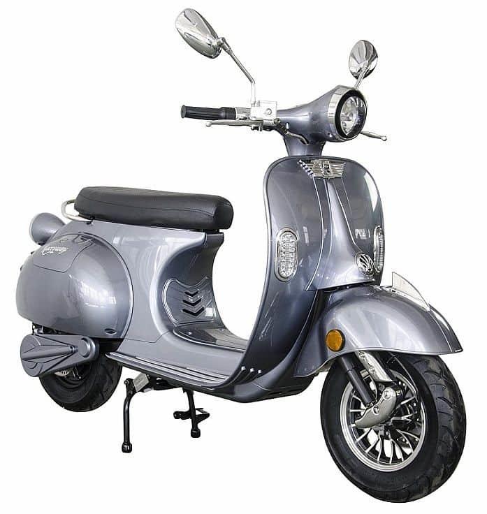 Šedá elektrická motorka Century, Racceway