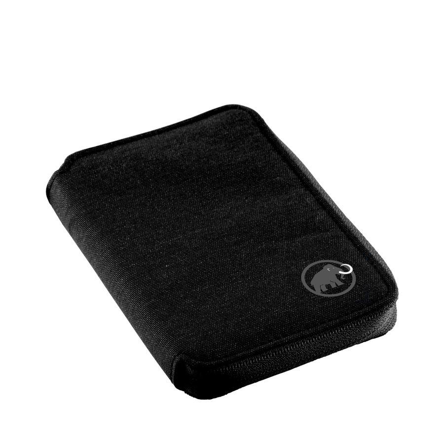 Peněženka - Mammut Zip Wallet Mélange Black