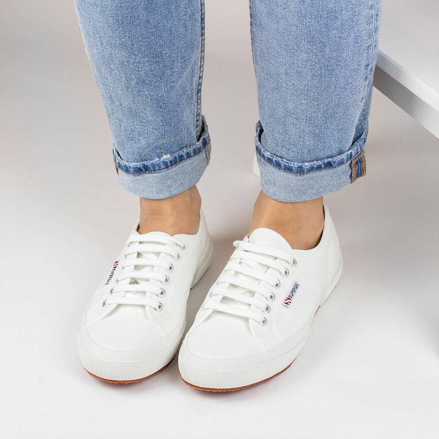 Bílé dámské tenisky Superga - velikost 45 EU