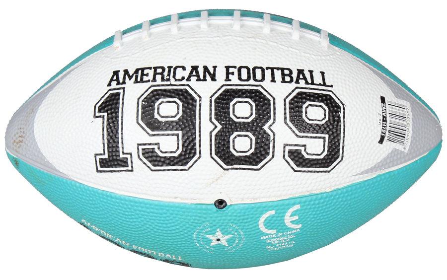 Zelený gumový míč na americký fotbal Chicago Mini, New Port - velikost 3