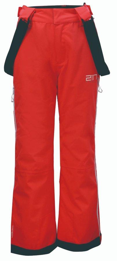 Oranžové dětské lyžařské kalhoty 2117 of Sweden