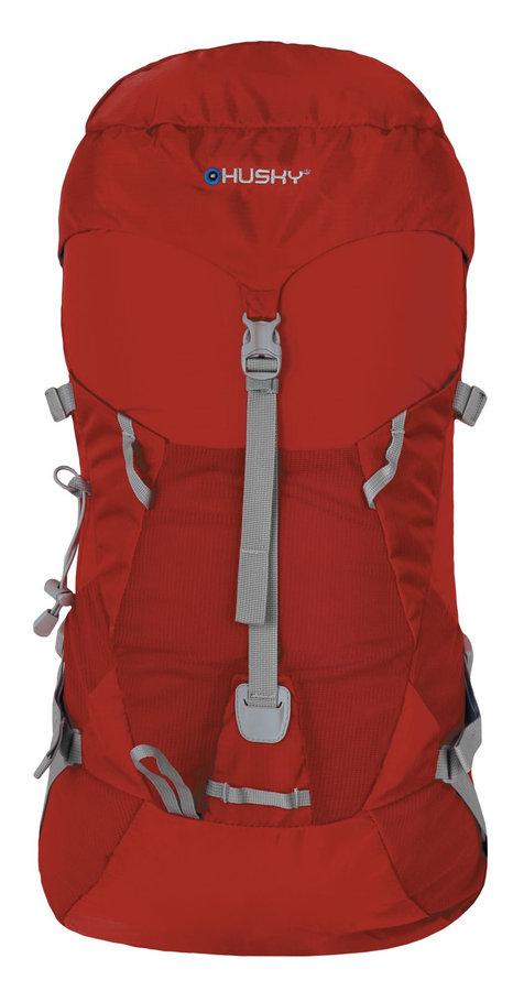Červený batoh Husky - objem 33 l