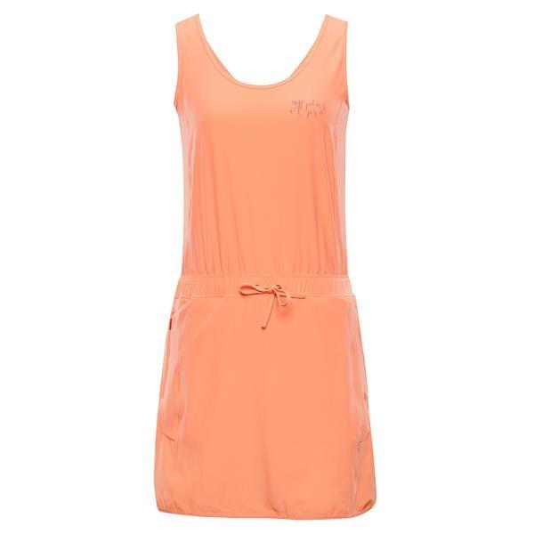 Oranžové dámské šaty Alpine Pro