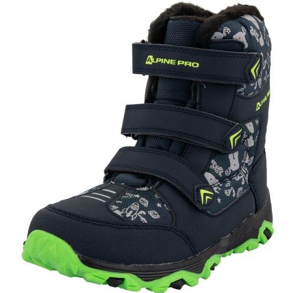Černé dětské zimní boty TRISTO, Alpine Pro