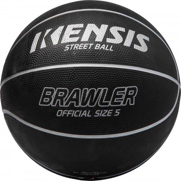 Černý basketbalový míč Kensis