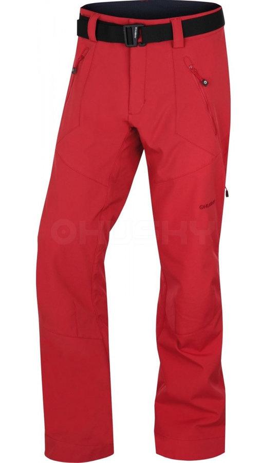 Červené pánské kalhoty Husky