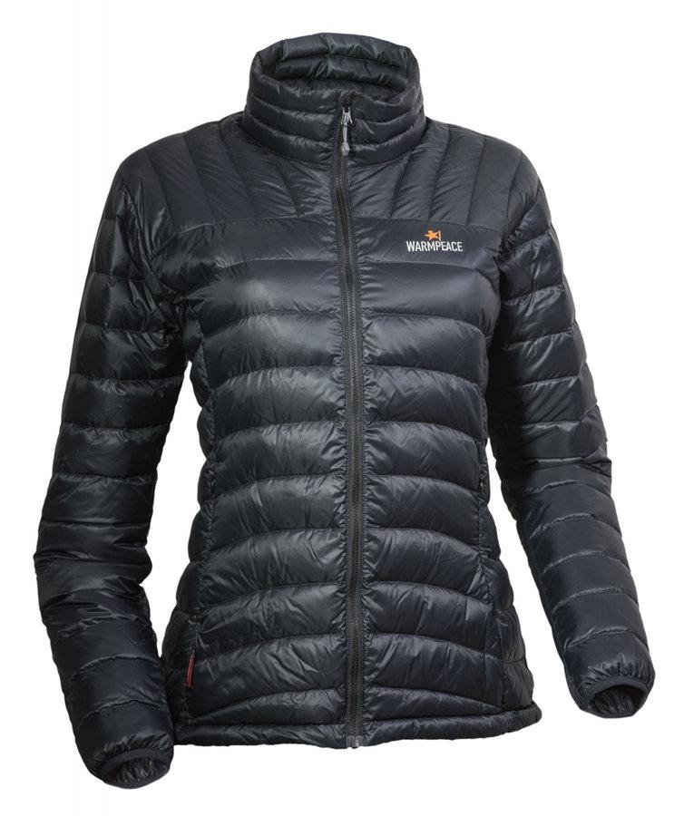 Černá peřová dámská bunda Warmpeace