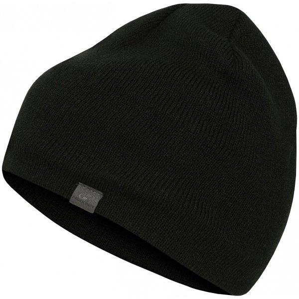 Černá pánská zimní čepice Hannah