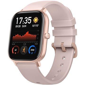 Růžové chytré hodinky Amazfit GTS, Xiaomi
