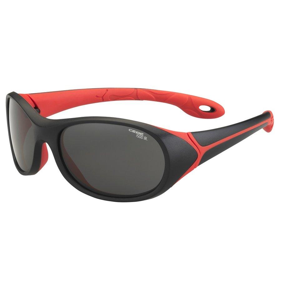 Sluneční brýle - Dětské sportovní brýle Cébé Simba černo-červená