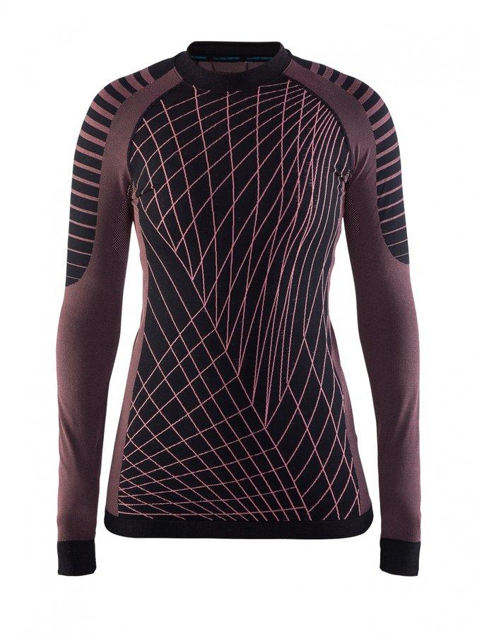 Fialové dámské funkční tričko s dlouhým rukávem Craft - velikost L