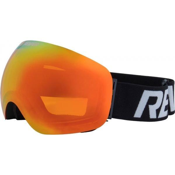 Černé brýle na snowboard Reaper