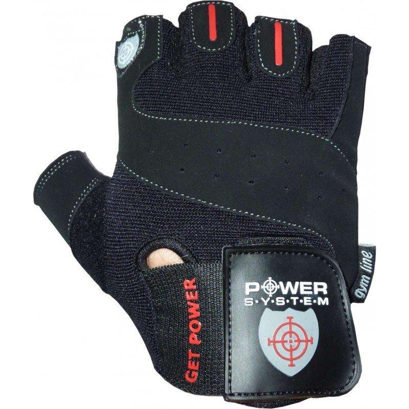 Černé fitness rukavice Power System - velikost XS