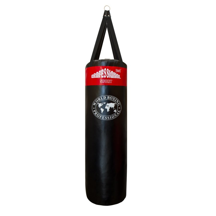 Černo-červený boxovací pytel Shindo - 36 kg