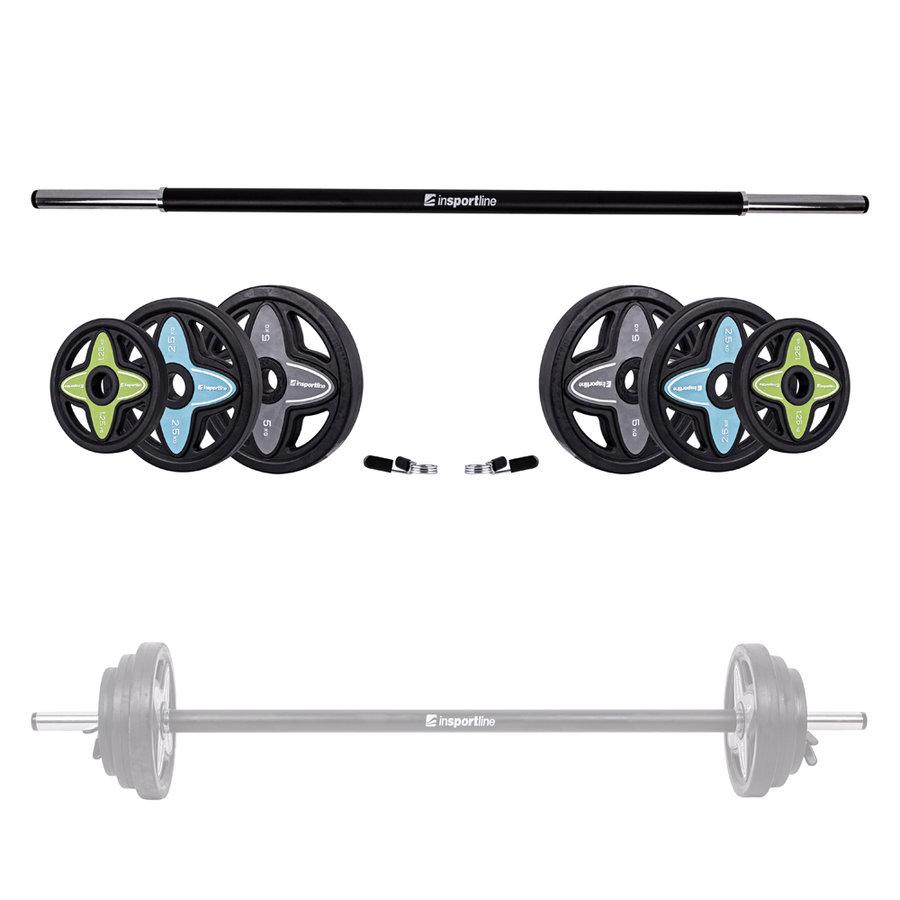 Činkový set - Činkový set inSPORTline Pumpstar 2 - 20 kg