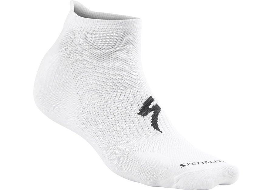 Bílé pánské ponožky INVISIBLE, Specialized - velikost 38-40 EU
