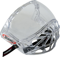 Plexi na hokejovou helmu - Plexi Bosport Master GUARD čirá (průhledná)