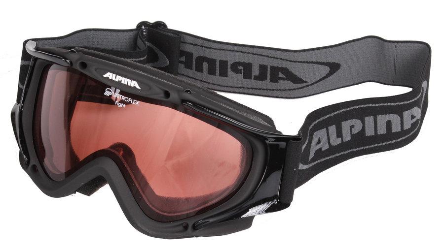 Lyžařské brýle - Alpina Fight černá