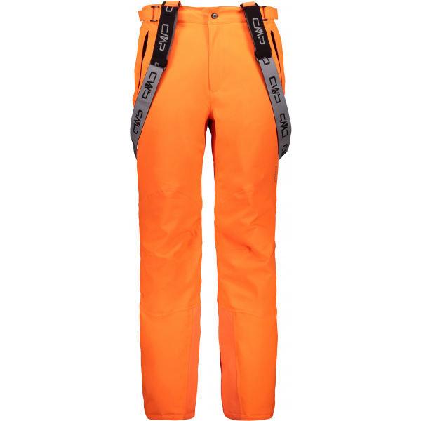 Oranžové pánské lyžařské kalhoty CMP