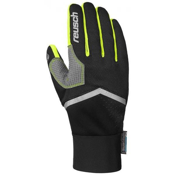 Žluté rukavice na běžky Reusch