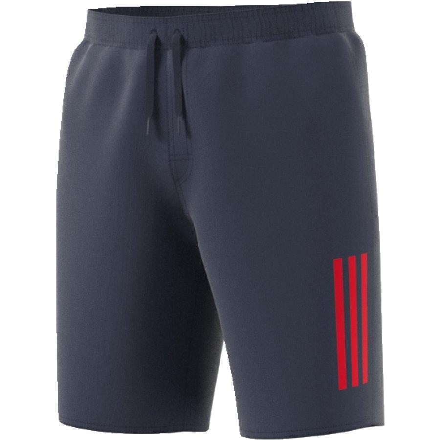 Modré pánské koupací kraťasy 3S Sh Cl, Adidas - velikost M