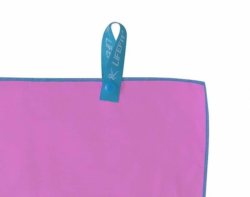Ručník - LIFEFIT rychleschnoucí ručník z mikrovlákna 35x70cm, růžový