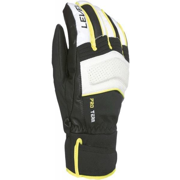 Černé pánské zimní rukavice Level
