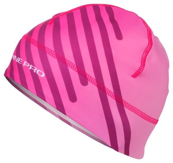 Růžová běžecká čepice Alpine Pro