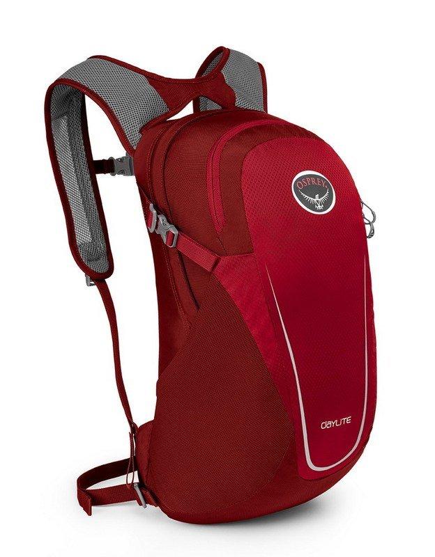 Červený batoh Osprey - objem 13 l