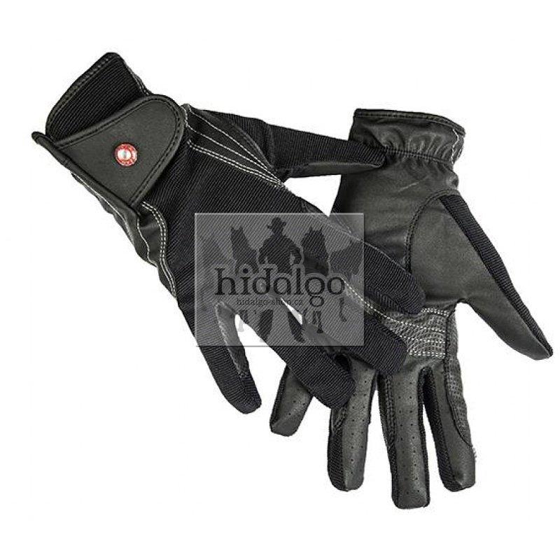 Jezdecké rukavice - Rukavice Professional zimní HKM Velikost: L