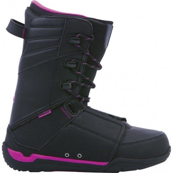 Černé dámské boty na snowboard Morrow