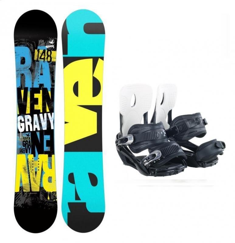 Dětský snowboard s vázáním Raven